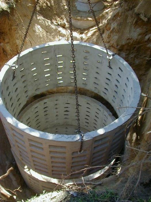 Туалет для дачи своими руками из бетонных колец