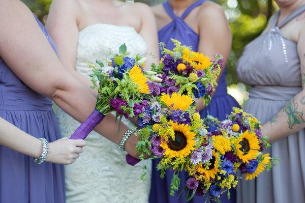 Чем привлекателен букет невесты из гербер?