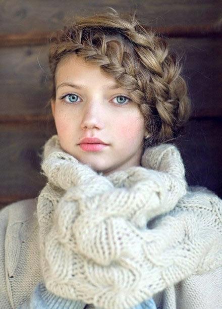 Плетение своими руками на длинные волосы
