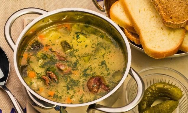 рассольник с перловкой рецепт супа