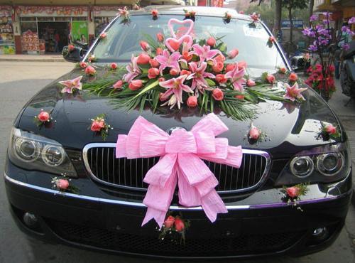 Нарядить машину на свадьбу своими руками фото