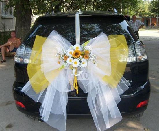 Креатив для новобрачных. Свадебные машины: как украсить своими руками