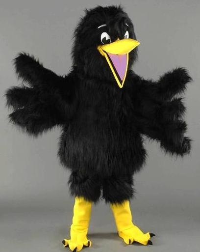 Делаем карнавальный костюм вороны