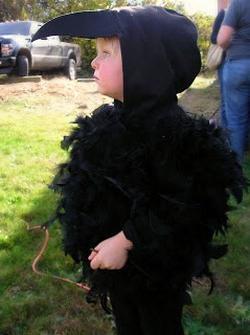 костюм вороны своими руками