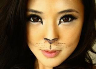 Как сделать макияж кошки