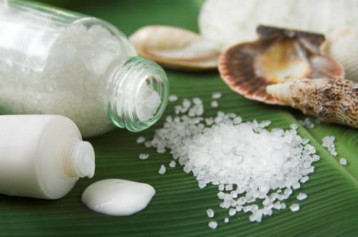 соль и йод для ногтей