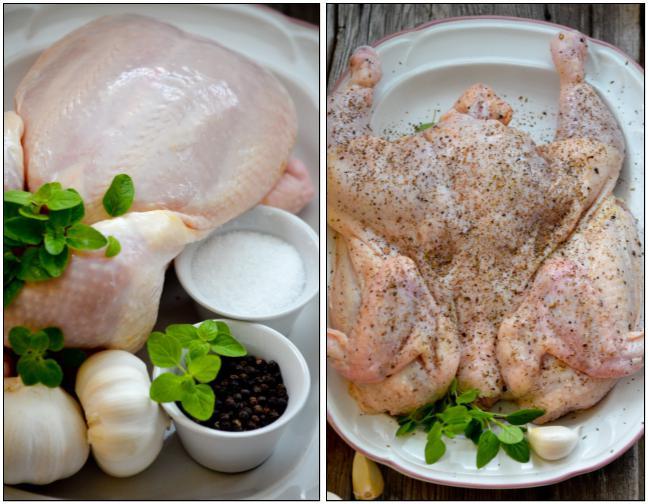 цыпленок табака классический рецепт