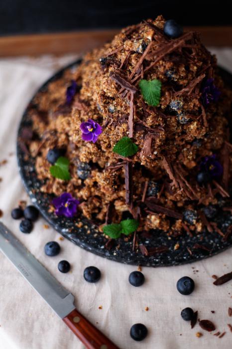 муравьиная горка из печенья