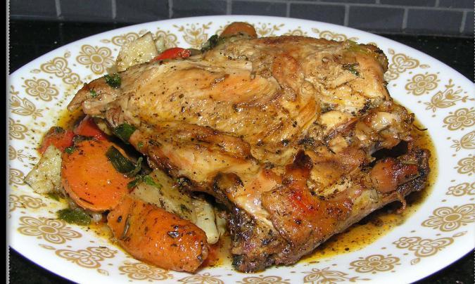 Потрясающе вкусное жаркое: куриная грудка с овощами