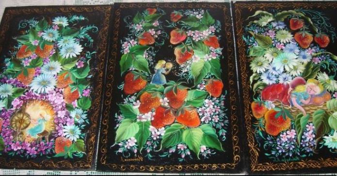 урало-сибирская роспись элементы