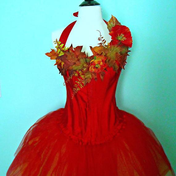 костюм для осеннего бала