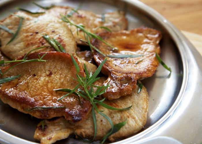 мясо в духовке рецепт эскалоп