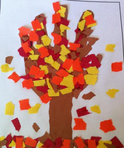 Осенние поделки из бумаги - Адалин