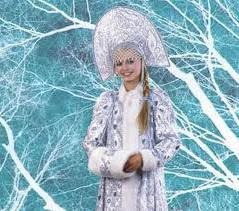 кокошник Снегурочки фото