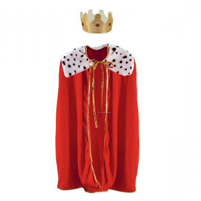 костюм детский короля