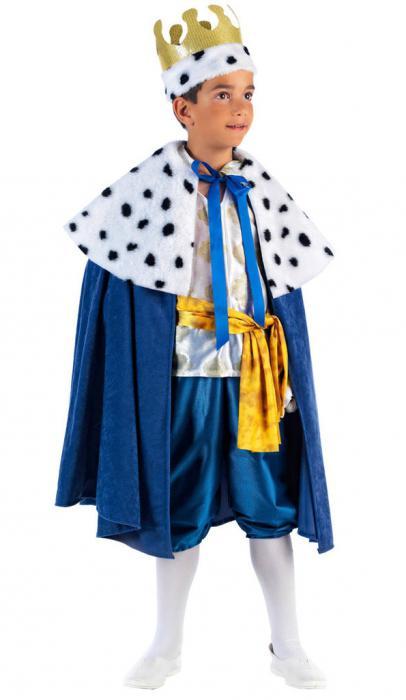новогодний костюм короля для мальчика