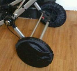 Сшить чехлы на колеса коляски
