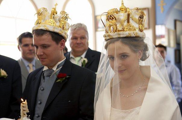 Antiochian orthodox wedding