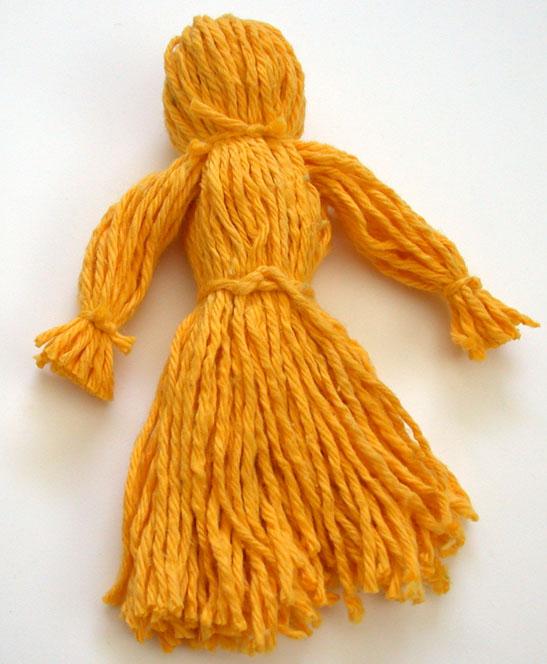 почти готовая кукла