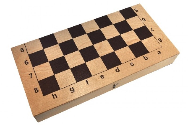 Каковы размеры шахматной доски?
