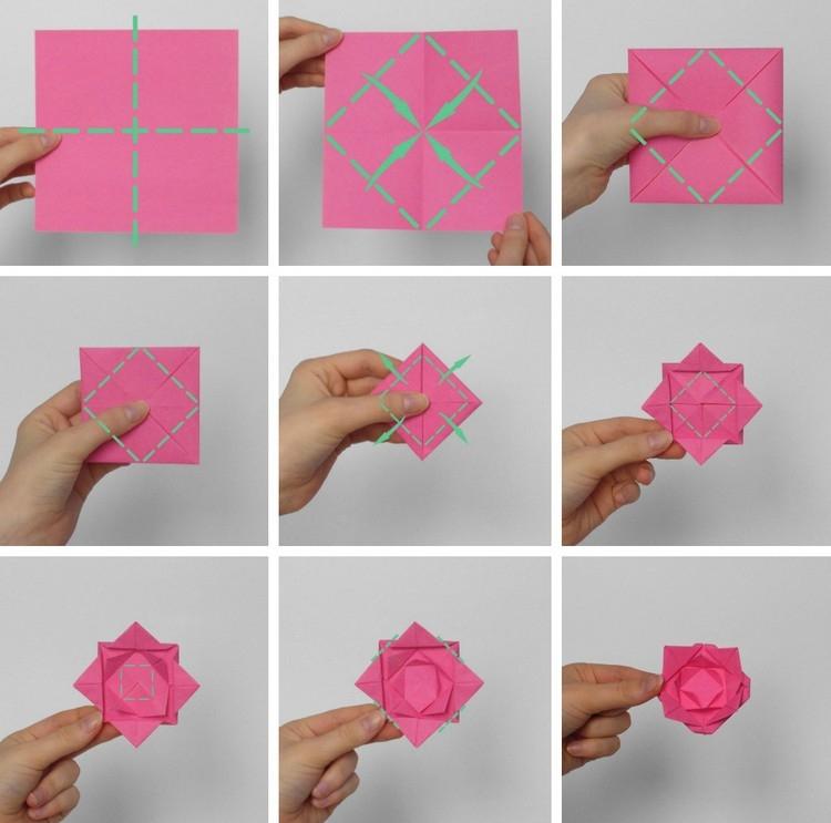 Origami flower rose instructions flowers healthy origami flowers folding instructions origami rose summary origami flowers folding instructions origami rose mightylinksfo