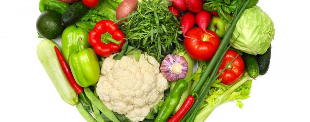 капуста, помидоры, чеснок и зелень