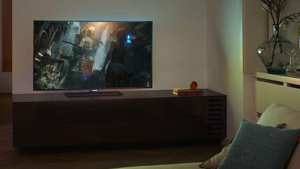 Телевизор эффектней для игр