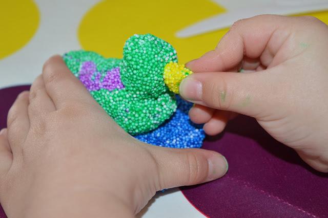 Пластилин шариковый мелкозернистый поделки