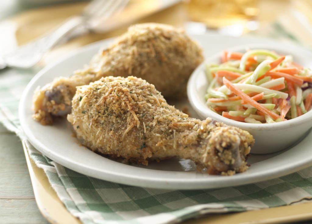 курица, приготовленная в духовке