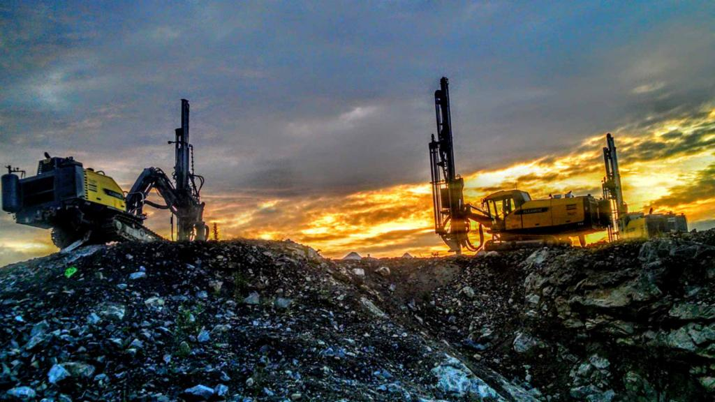 Soil drilling