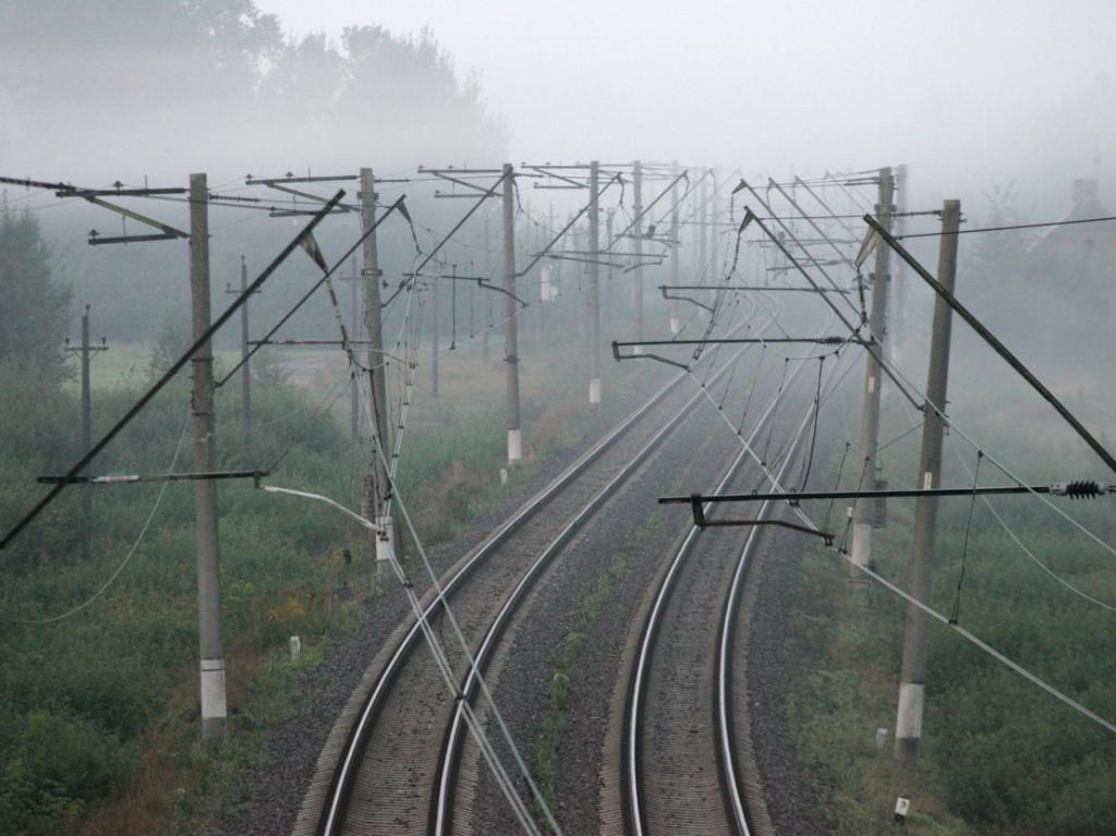 Электрифицированная железная дорога