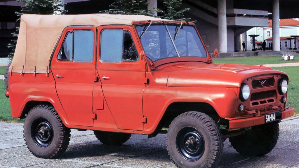УАЗ 469 красный