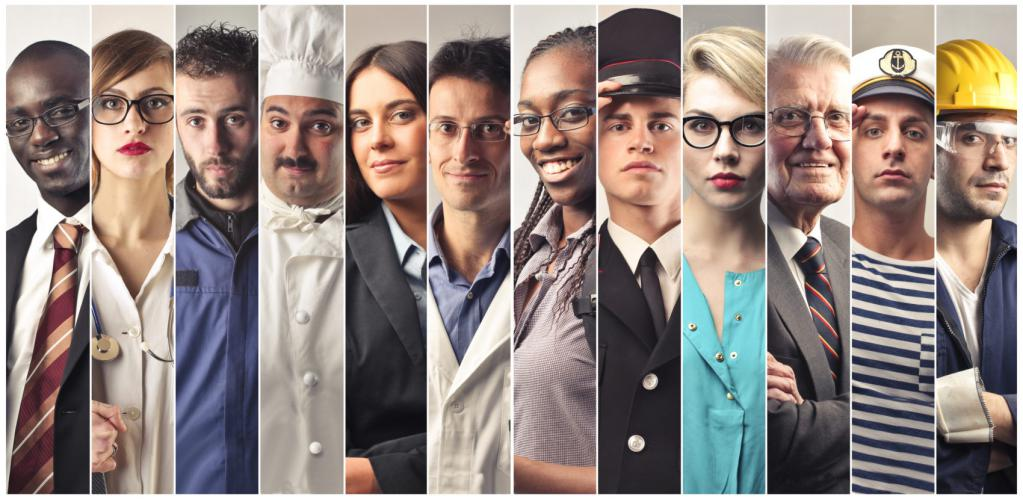 people of different professions