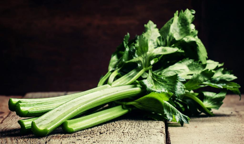 raw celery