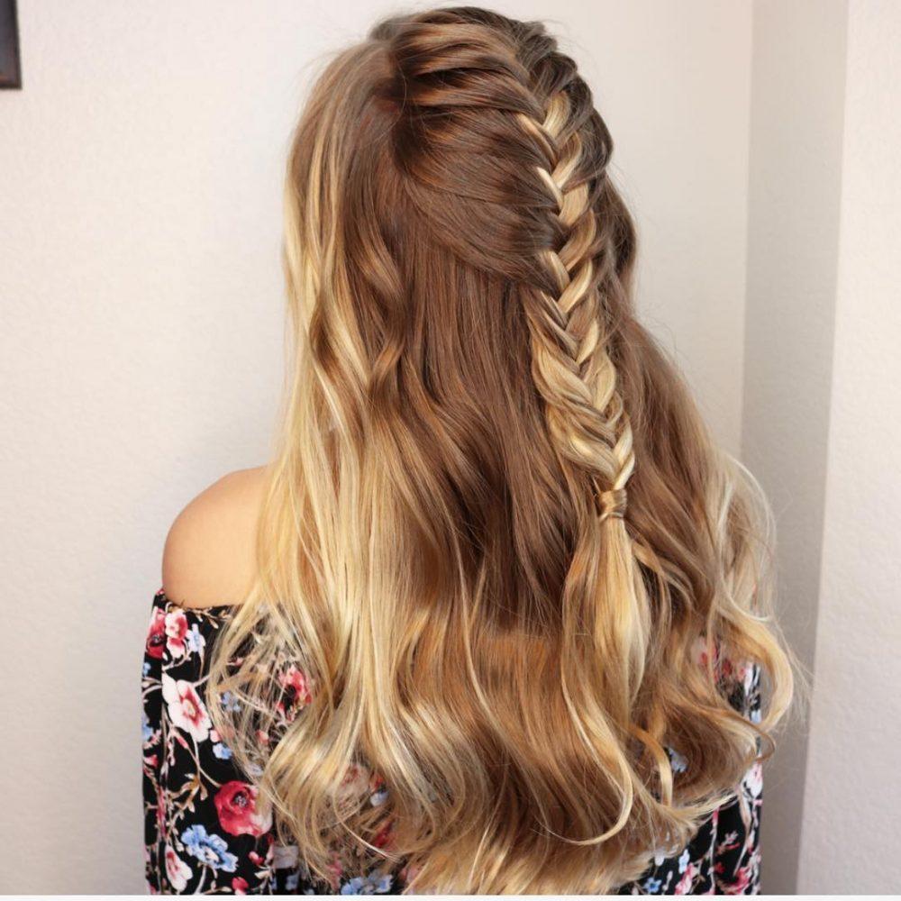 укладка на волосы