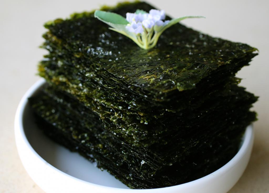 сухие водоросли
