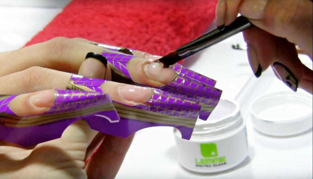 Поэтапное наращивание ногтей гелем: пошаговая инструкция с описанием и фото, техника выполнения