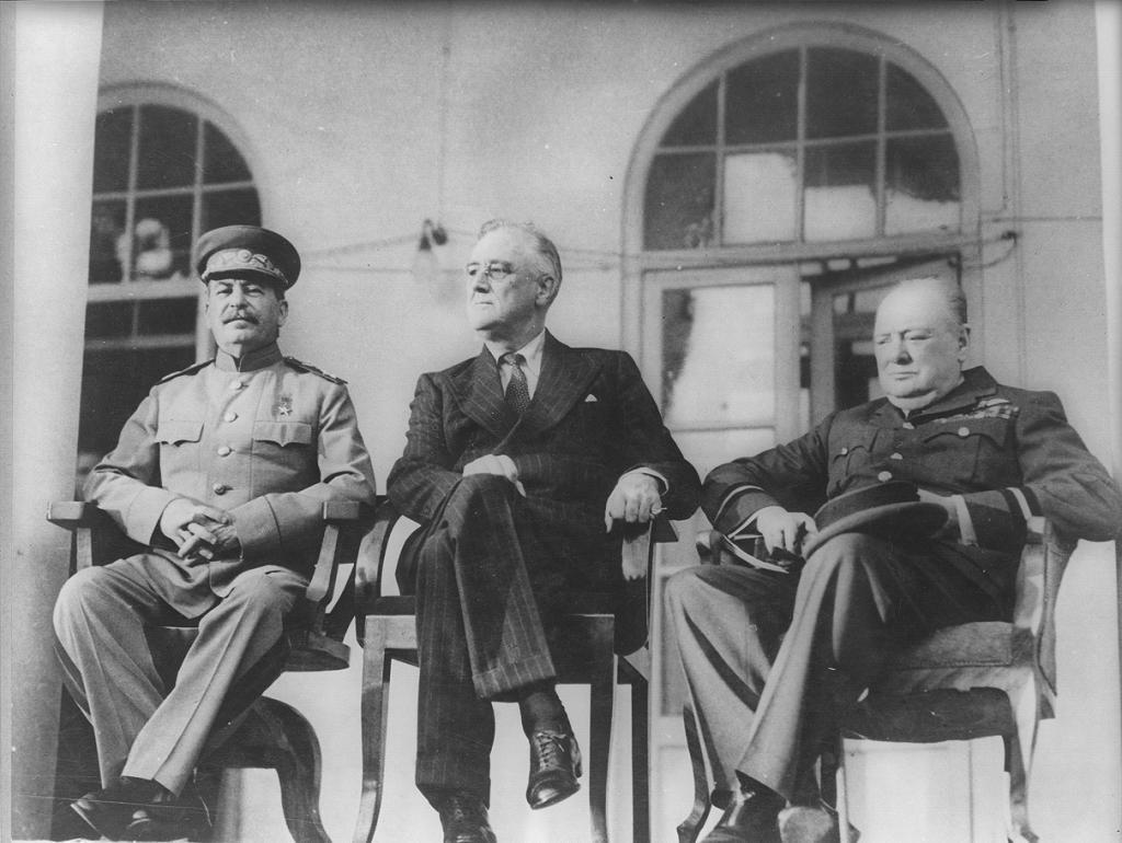 Западный и Восточный фронт Второй мировой войны