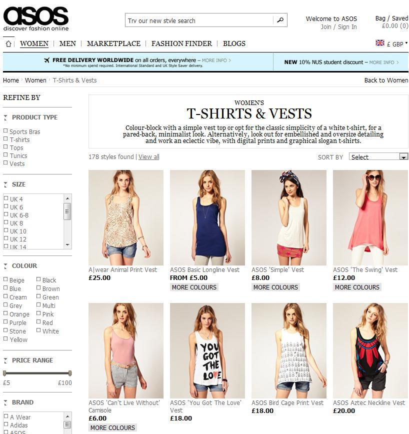 Asos И Другие Интернет Магазины