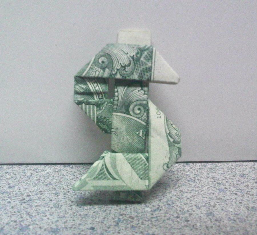 фото всех фигур из денежной резинки цвета обоев изображенного