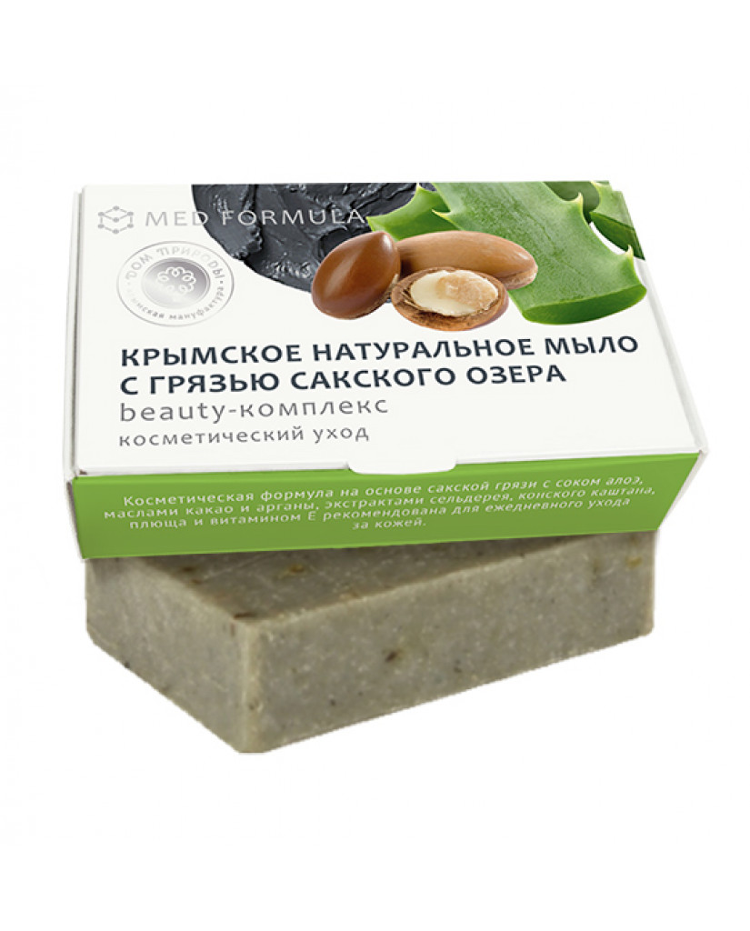 Soap with mud from Lake Saki