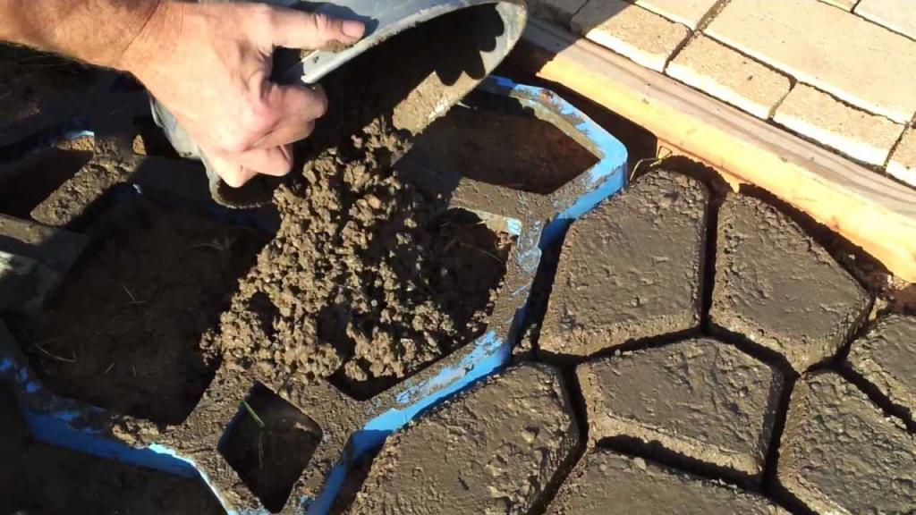 Технология изготовления тротуарной плитки своими руками 100