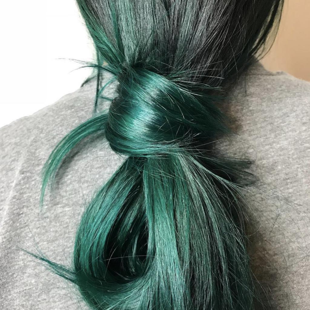 Окрашивание волос перманентной краской