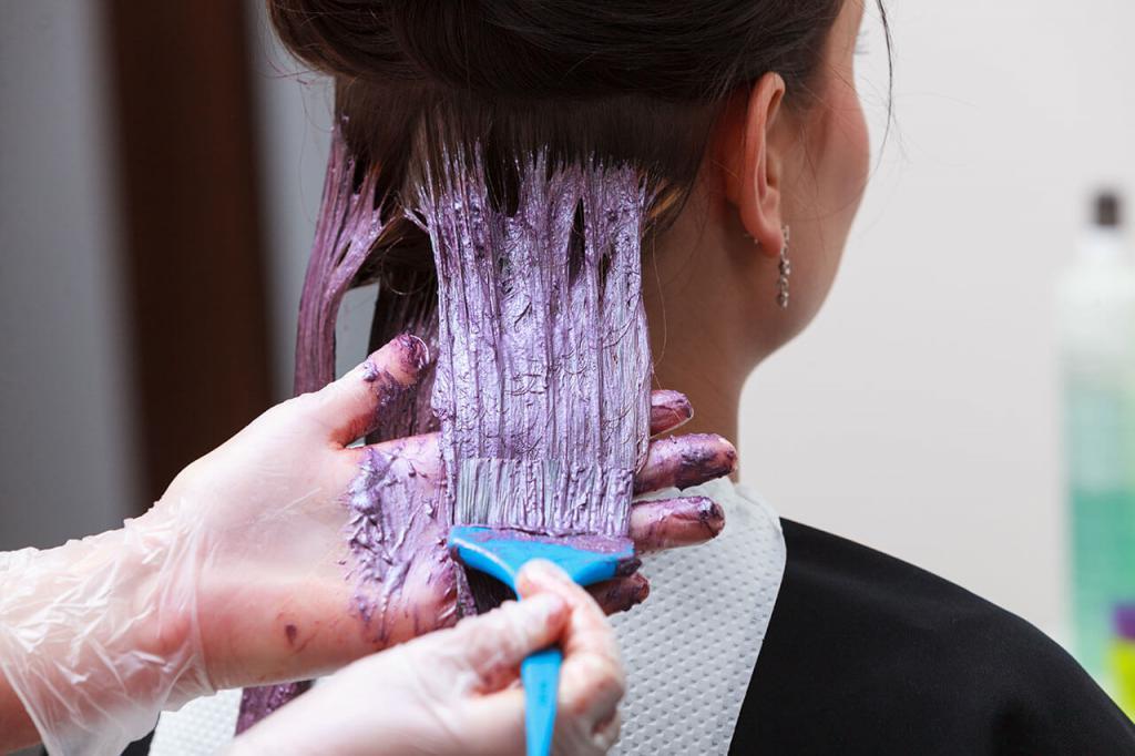 Способ применения перманентной краски