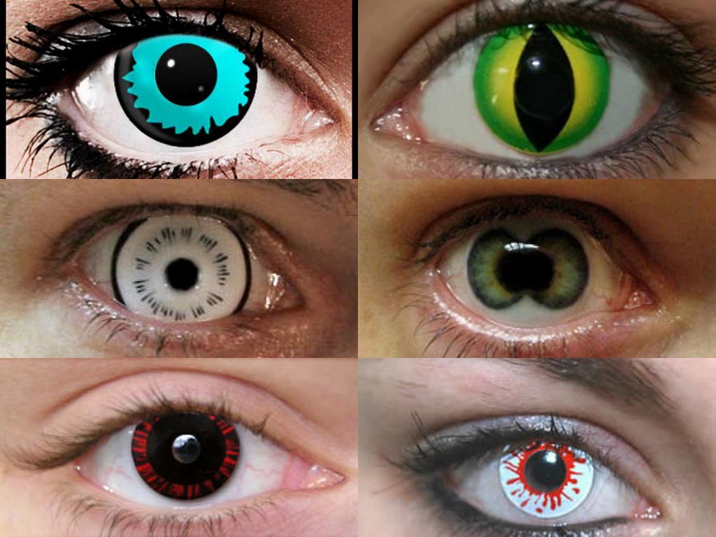 Прикольные линзы для глаз для мужчин