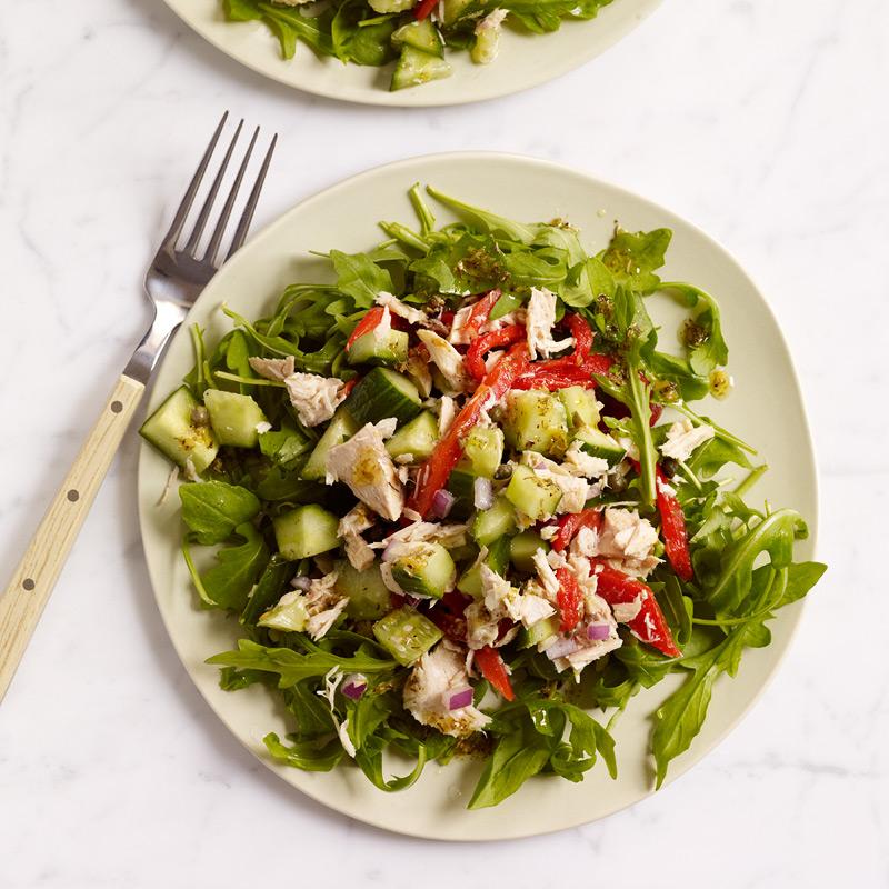 салат с тунцом для похудения