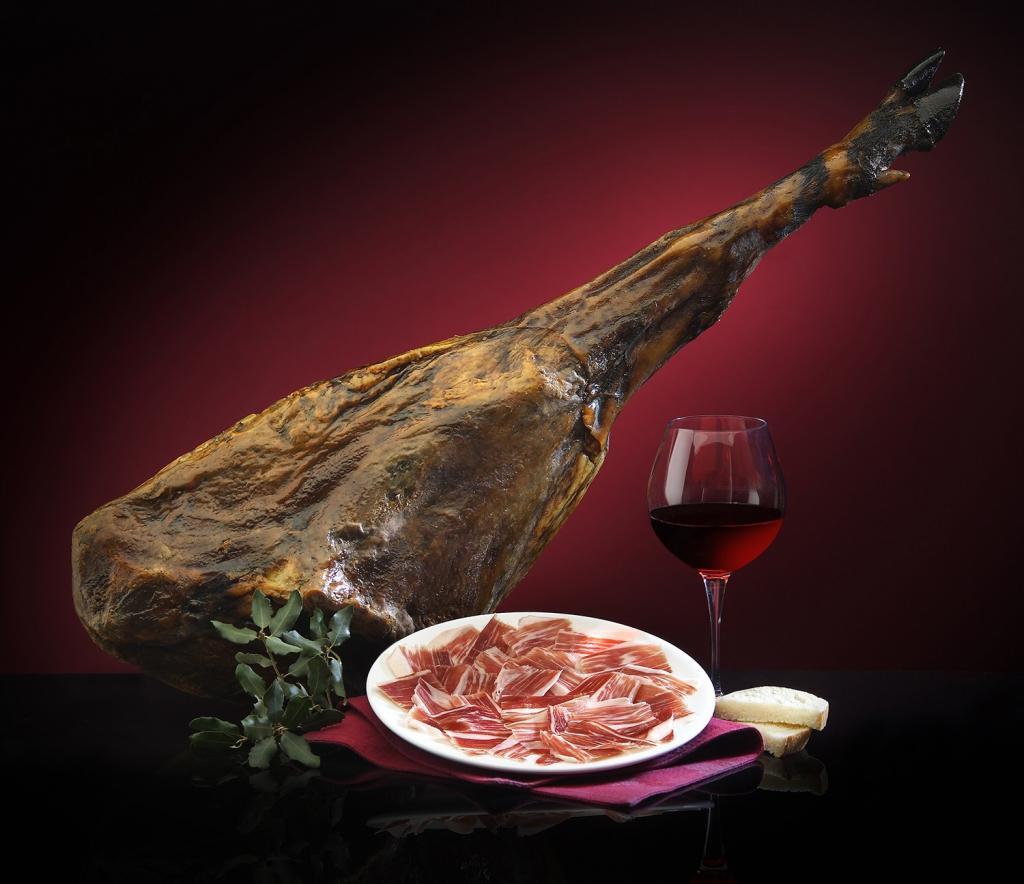 испанский деликатес хамон фото течение дня