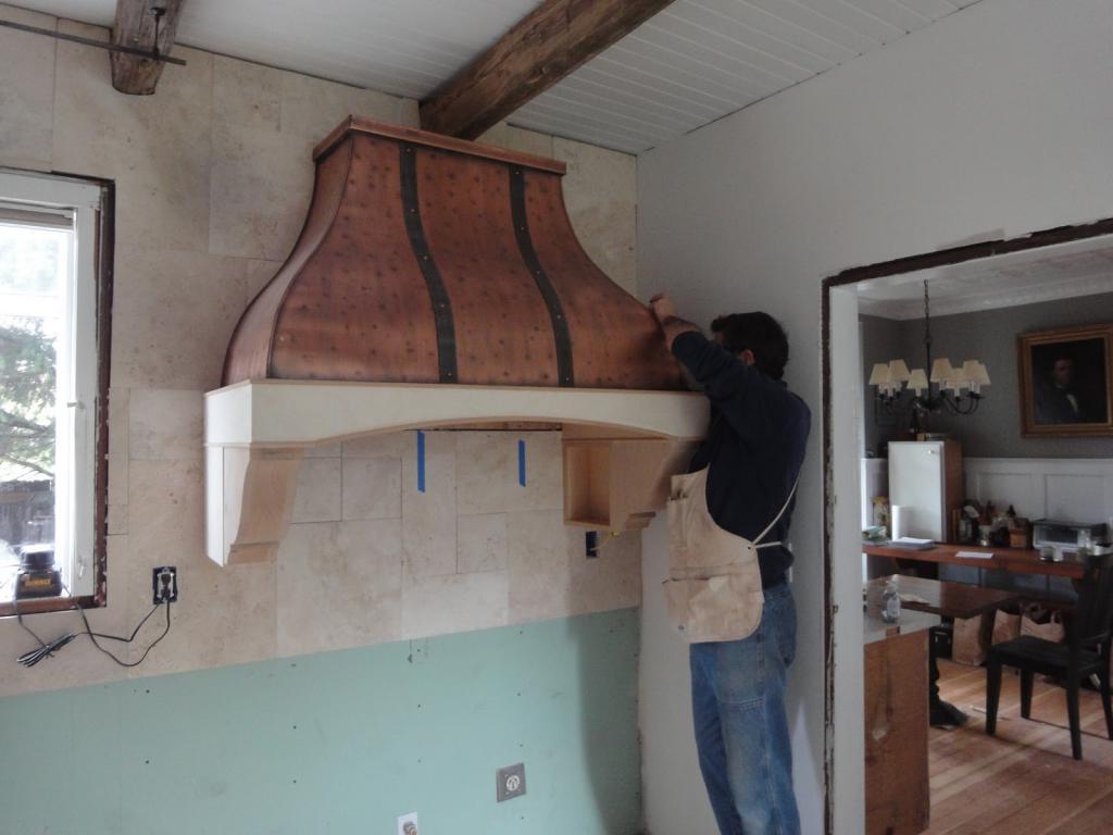 hood installation