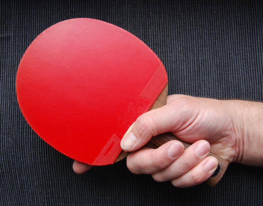 how to keep a racket in table tennis photo