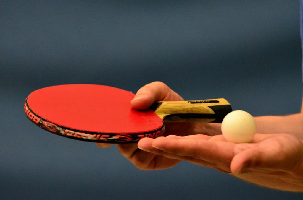 table tennis how to kick the ball